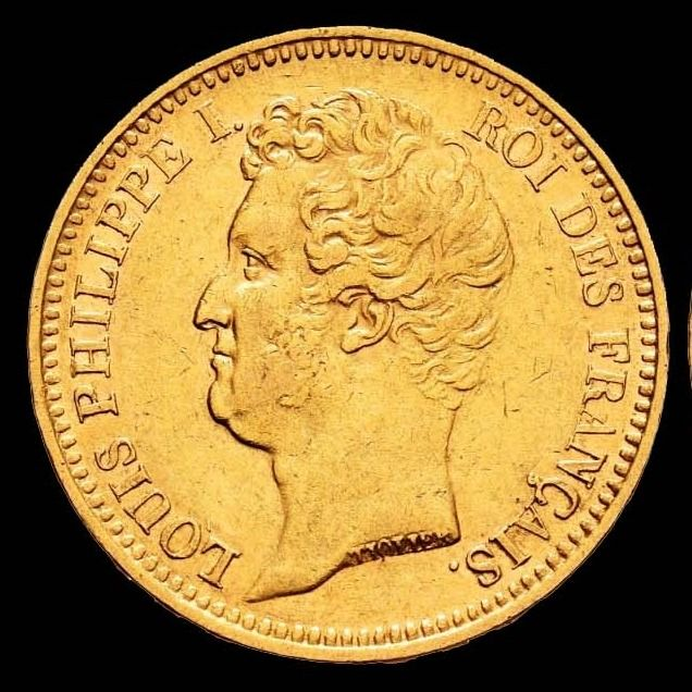 20 Francs 1831-A Louis Philippe I - Or