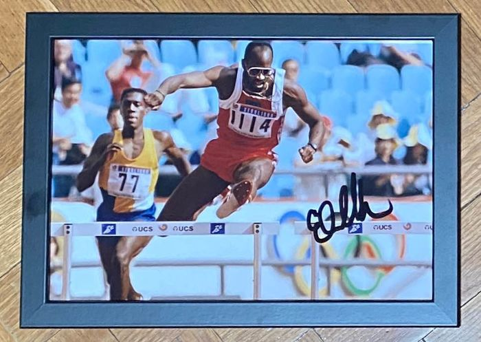 Athlétisme - Edwin Moses - Photo
