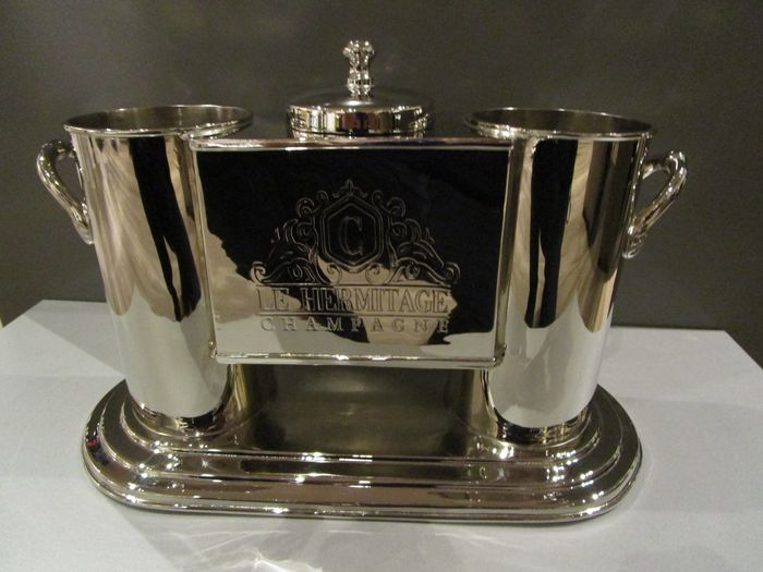 Colmore for Le Hermitage - Wine/champagne cooler - Silver plated