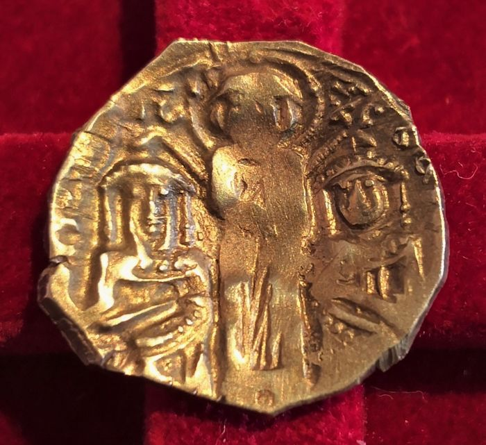Byzantinisches Reich - AV Hyperpyron, Andronikos II and Michael IX (AD 1295-1320). Constantinople - Gold