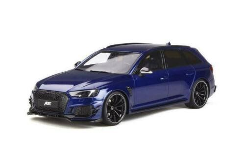 GT Spirit - 1:18 - Audi RS4 Avant ABT Edition - Blauw - Rare Asia exclusive edition!