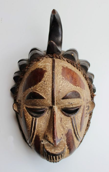 Mask (1) - Wood - Idoma - Nigeria