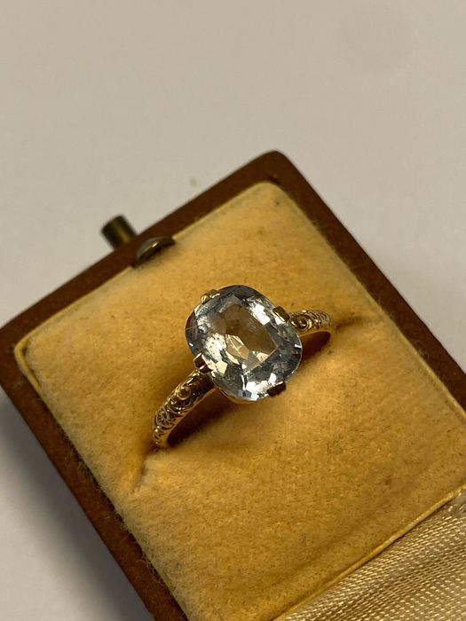 18 carats Or jaune - Bague - 3.00 ct Spinelle