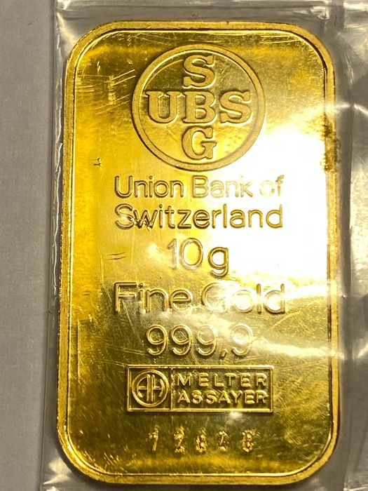 10 grammes - Or .999 (24 carats) - UBS