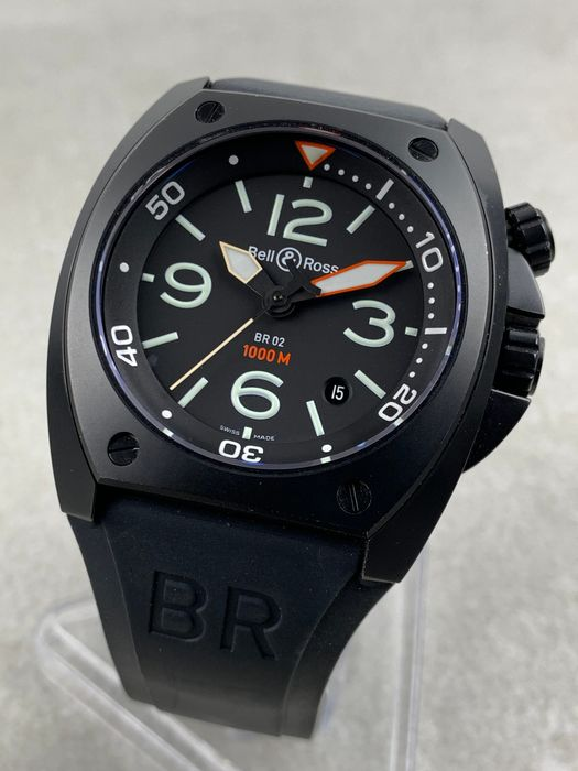 Bell & Ross - BR02-92 Marine Diver - BR02-92-SFB-R - Homme - 2011-aujourd'hui