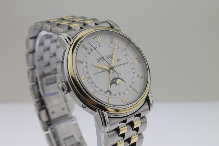 Maurice Lacroix - Masterpiece - Phase De Lune - Gold/Steel - Reference 37757 - Herren - 2000-2010