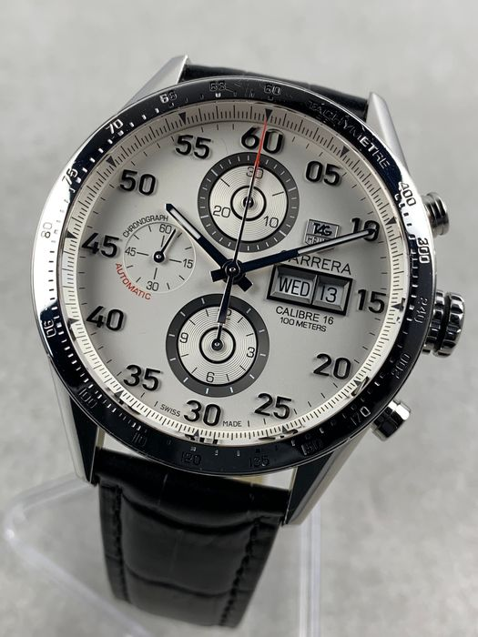 TAG Heuer - Carrera Calibre 16 Day Date Chronograph - CV2A11 - Homme - 2000-2010