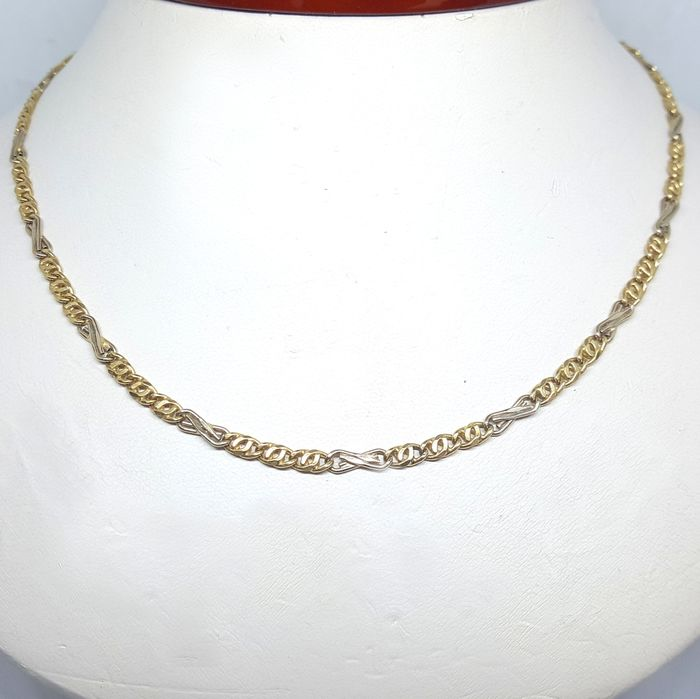 Mancini - 18 kt. White gold, Yellow gold - Necklace
