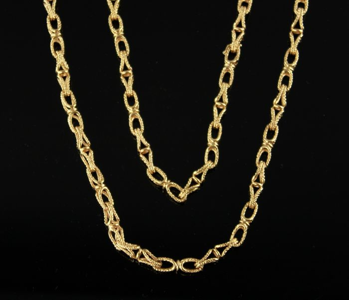 Hermes - 18 kt. Yellow gold - Necklace