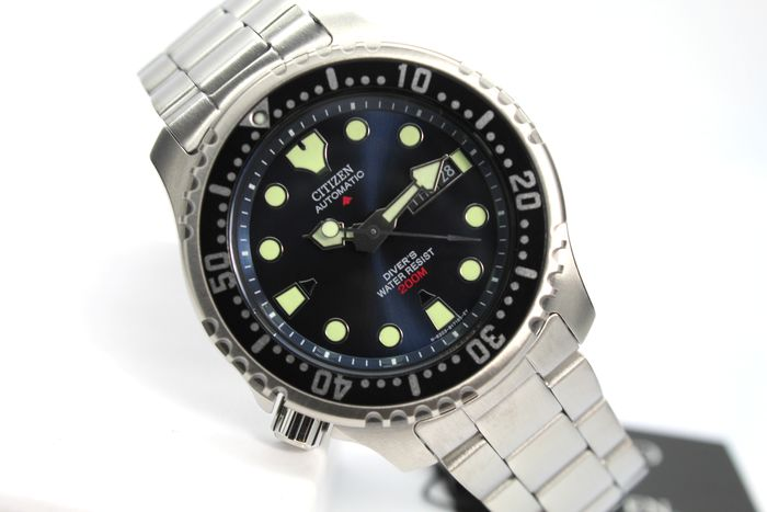 "Citizen - ""NO RESERVE PRICE""  Promaster Aqualand Watces Automatic Diver's 200 Metri Sub Professional  - NY0040 - Herren - 2020"