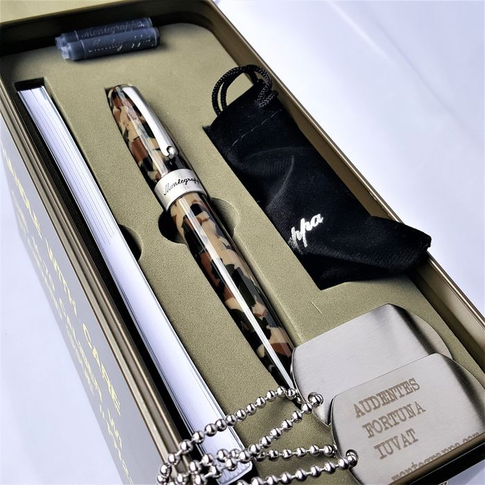 Montegrappa - Fountain pen - Camouflage Dog Tags Cartridges Special Edition - 2020, New