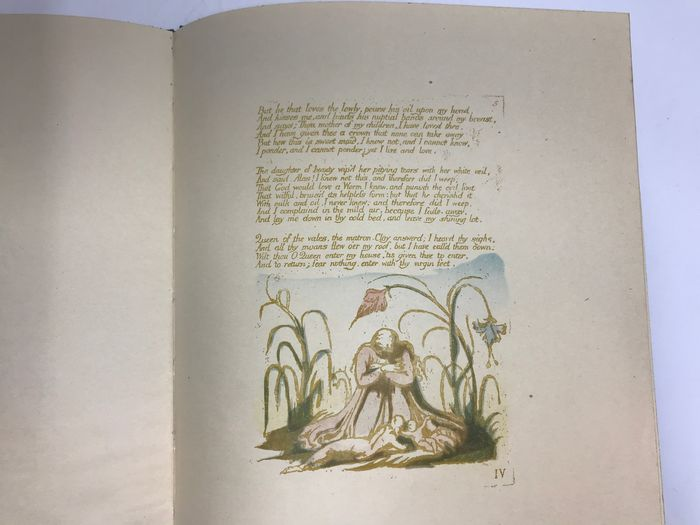William Blake - The Book of Thel (limited facsimile edition reproduced from the copy in British Museum) - 1928