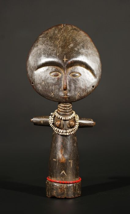 Sculpture - Wood - Akan - Ghana