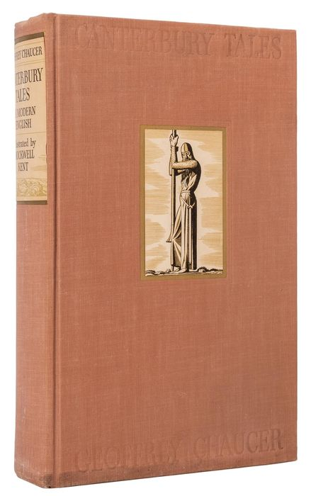 Chaucer / Rockwell Kent  - Canterbury Tales (Deluxe edition) - 1934