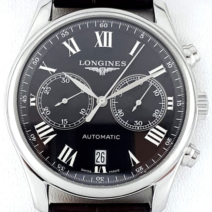 """Longines - Master Collection - """"NO RESERVE PRICE"""" - Ref:  L2.629.4 - Homme - 2011-aujourd'hui"""
