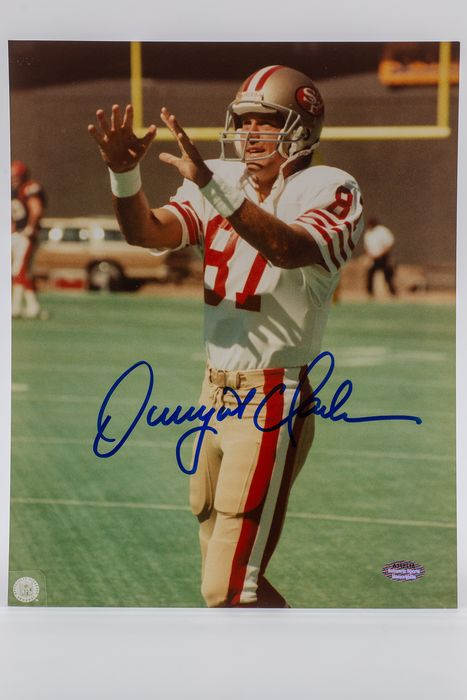 American Football - Dwight Clark - Photograph