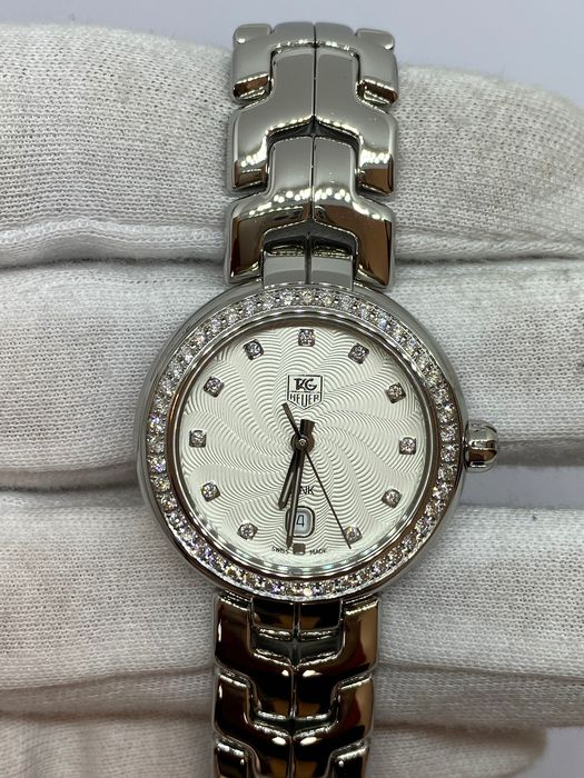 TAG Heuer - Link gilloche diamond - WAT1414 New without tags - Dames - 2011-heden