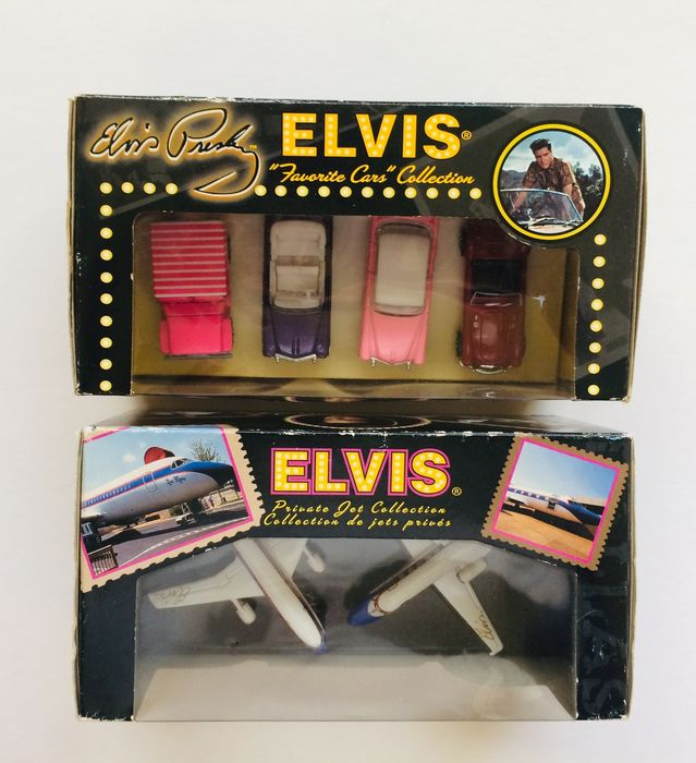 Elvis Presley - Matchbox Collectibles ( Jet & Car Collection ) - 2001/2003