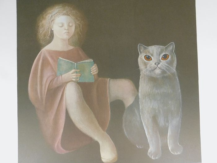 Leonor Fini - La Fille et le Chat
