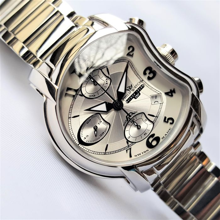Philip Watch - Swiss Made Chronograph Automatic Anniversary 150 Limited Edition - Herren - 2020 - New