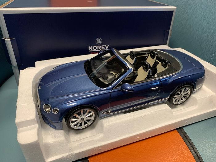 Norev - 1:18 - Bentley Continental GT 2019 Convertible - 2019