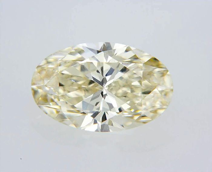 1 pcs Diamond - 0.64 ct - Oval - I - VVS1