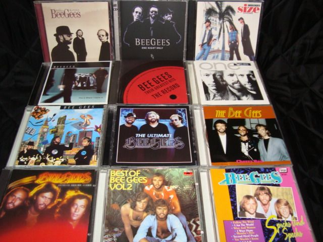Bee Gees - (A More Than) Complete Career Overview on 12 CD Albums (incl double cd's) - Diverse Titel - CD's - 1988/2009