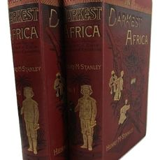 Henry M. Stanley - In Darkest Africa or The Quest, Rescue and Retreat of EMIN Governor of Equatoria - 1890