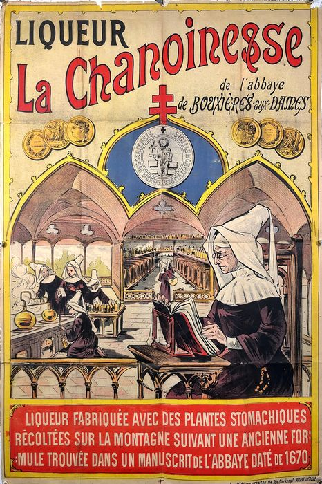 Anonymous - Liqueur La Chanoinesse - Jaren 1900