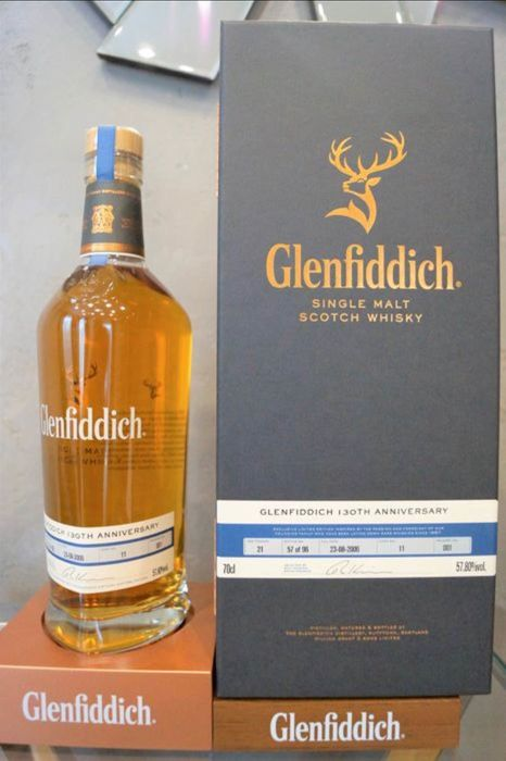 Glenfiddich 21 years old 130th Anniversary - One of 96 bottles - Original bottling - 70 cl