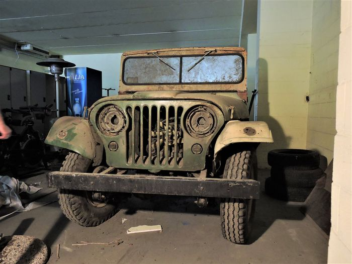 Jeep - Willys M38A1 - 1952
