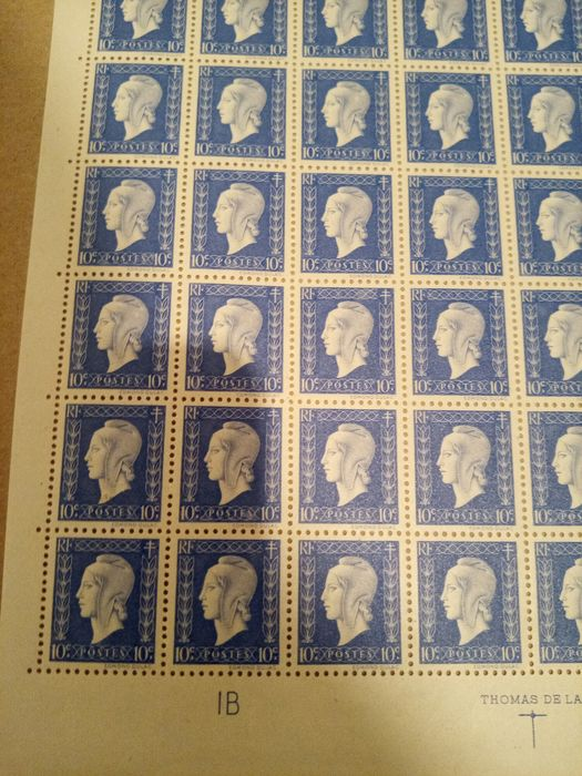Lot 34353959 - French Stamps  -  Catawiki B.V. Weekly auction - Note the closing date of each lot