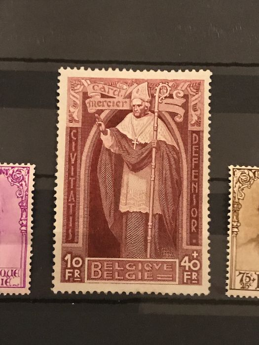 Lot 34389017 - Belgian Stamps  -  Catawiki B.V. Weekly auction - Note the closing date of each lot