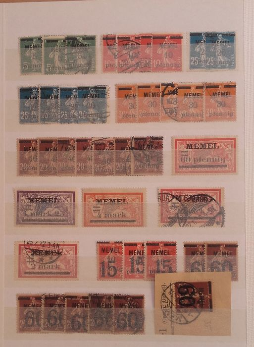 Lot 34380133 - German Stamps  -  Catawiki B.V. Weekly auction - Note the closing date of each lot