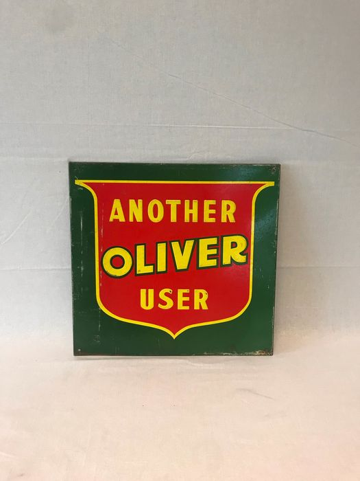 Another Oliver user - Reclame bord - Blik