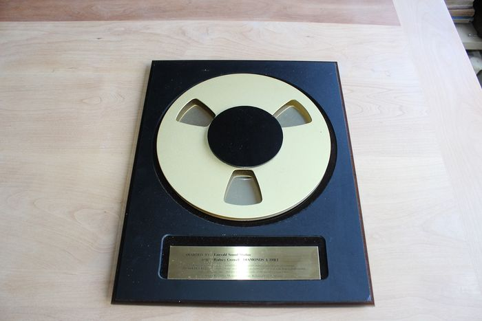 Rodney Crowell - Diamonds and Dirt - AMPEX Award - Official award - 1988/1988