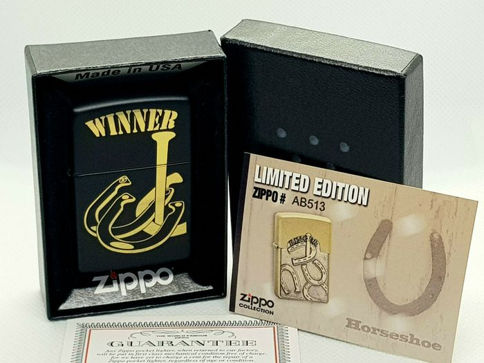 Zippo - Winnaar Paardenschoenen Rodeo Marlboro Icon Limited Edition