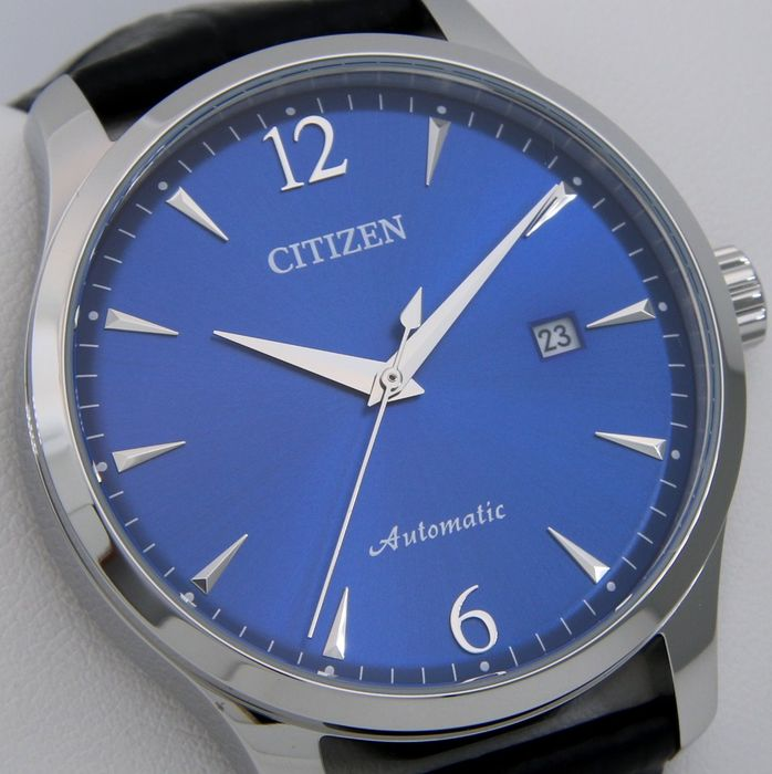 """Citizen - Automatic """"Blue Dial"""" Leather band - - """"NO RESERVE PRICE"""" - - Herren - 2019"""