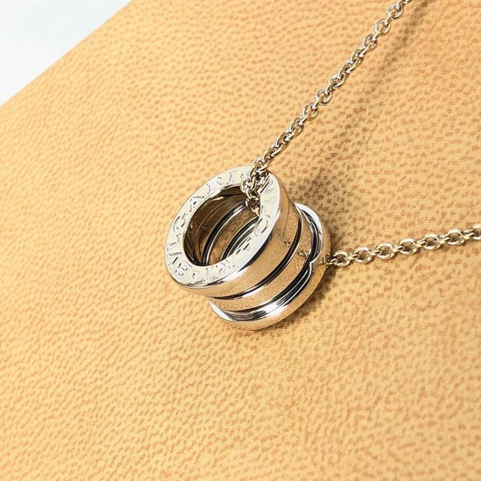 Bvlgari B. Zero 1 - 18 kt. White gold - Exclusive Luxury Ladies Necklace
