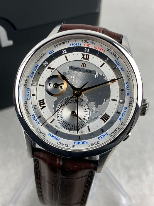 Maurice Lacroix - Masterpiece Worldtimer Automatic - MP6008 - Heren - 2011-heden