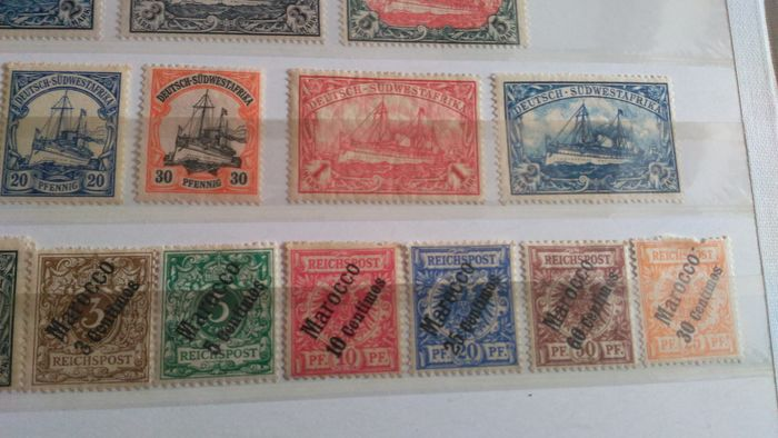 Lot 34366671 - German Stamps  -  Catawiki B.V. Weekly auction - Note the closing date of each lot