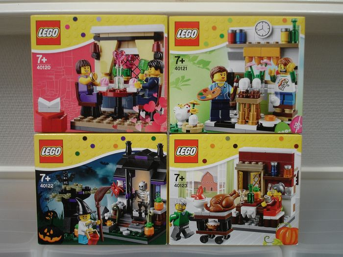 Lego Trick or Treat Halloween Seasonal Set # 40122 Box Damaged