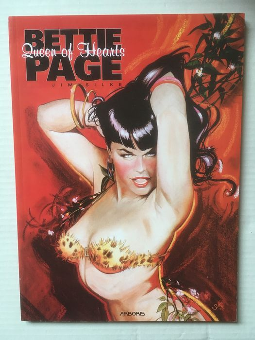 Pin Up 1 t/m 9 + Bettie Page, Queen of hearts - 10 Albums - Softcover - First edition - (1994/2007)