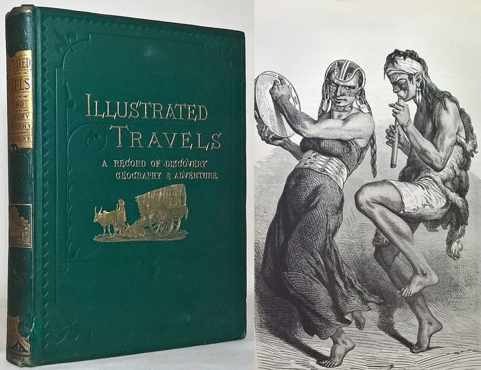 H.W. Bates - Illustrated Travels: A Record Of Discovery, Geography & Adventure - 1880