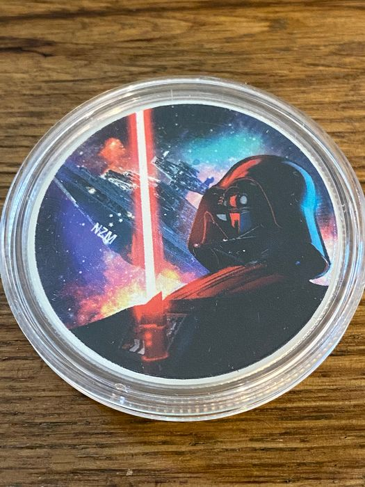 Niue - 2 Dollars 2018 'Star Wars - Darth Vader' Farbe - 1 oz - Zilver