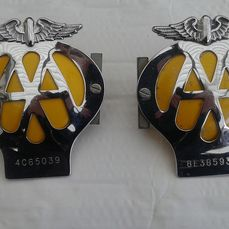 Embleem / Mascotte - Grille Badge - AA - Automobile Association - - nvt - 1960-1970