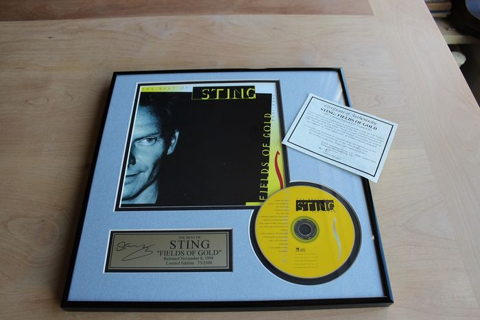 Sting - Fields of Gold - Official award - 1995/1995