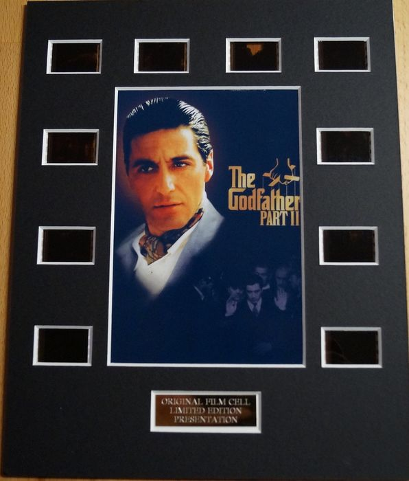 The Godfather Part II - Al Pacino  - Film Cell Display