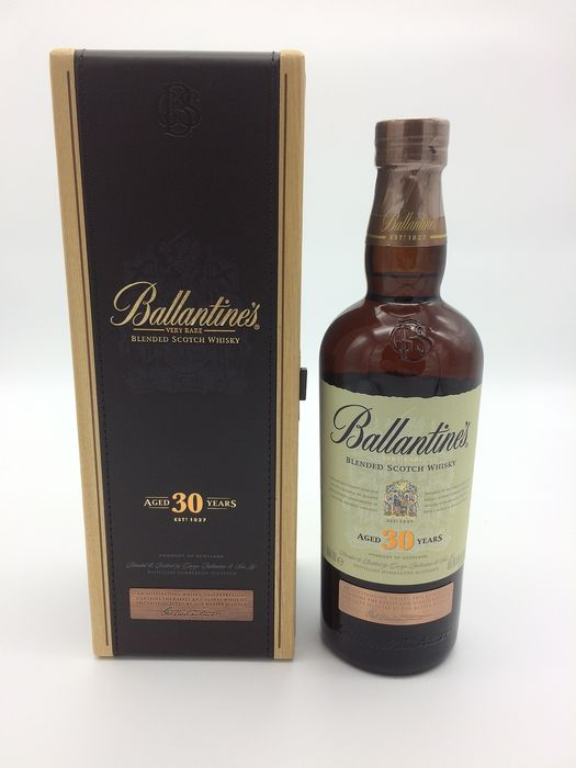 Ballantine's 30 years old Very Rare - Original bottling - 70cl