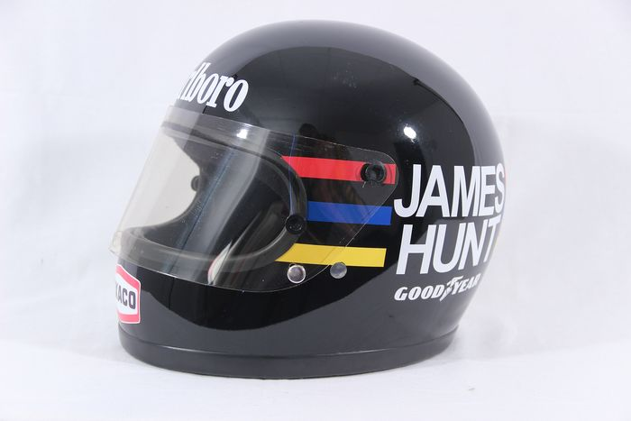 Mclaren - Formula One - James Hunt - 1975 - Replica Bell helmet
